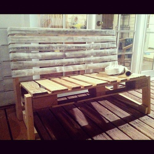Pallet_fire_hose_bench